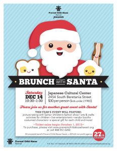 27th Annual Brunch with Santa @ Japanese Cultural Center (Manoa Grand Ballroom) | Honolulu | Hawaii | United States