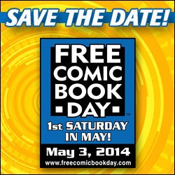 Free Comic Book Day 2014 @ Various locations across the state