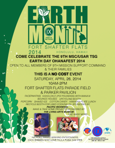 Earth Day Ohana Fest 2014 @ Fort Shafter Flats | Honolulu | Hawaii | United States