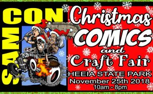 SAMCON Christmas Comics and Craft Fair @ He'eia state park | Kaneohe | Hawaii | United States